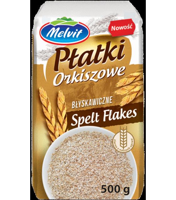 MELVIT Spelt Flakes - 500g (best before 08.10.21)