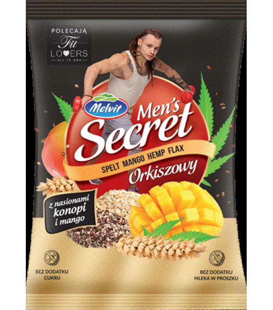 "MELVIT ""Men's Secret"" Spelt with Mango and Hemp - 50g (exp. 27.12.20)"