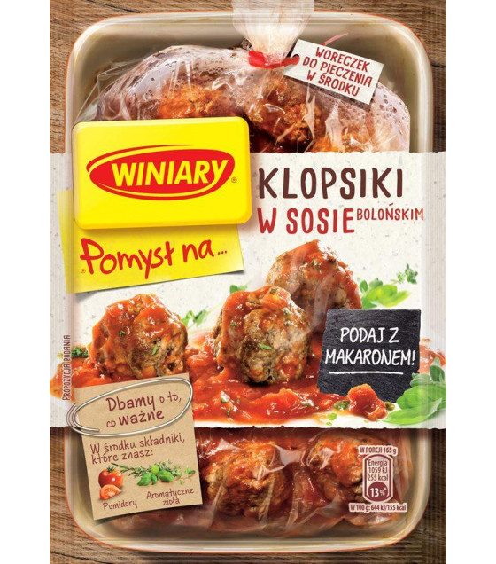 WINIARY Mix for Cooking Meatballs in Bolognese Sauce - 37g (best before 01.03.22)