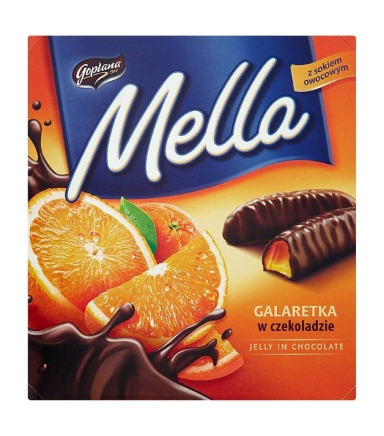 "Jelly in Chocolate ""Mella"" Orange - 190g (exp. 01.03.20)"