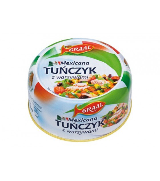 GRAAL Tuna Salad Mexicana - 280g (exp. 01.12.21)