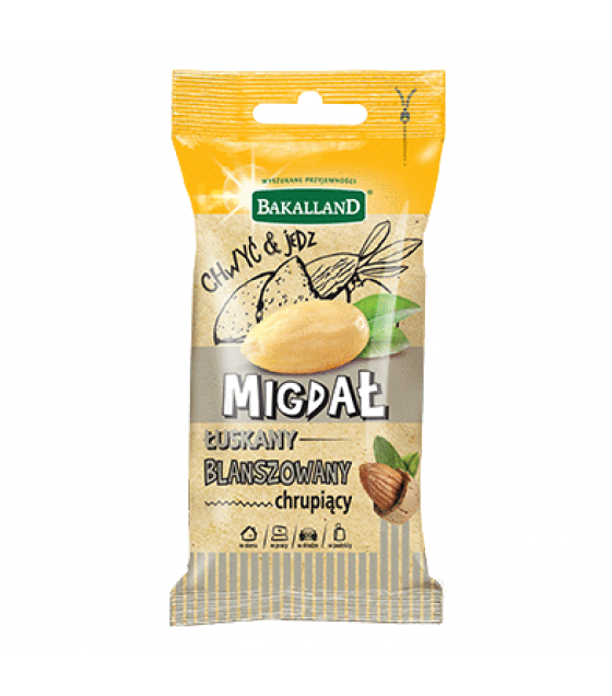 BAKALLAND Blanched Almonds - 40g (exp. 30.09.20)