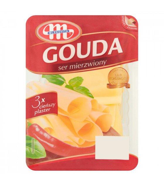 Mlekovita GOUDA ruffled cheese -150g (exp. 29.12.19)