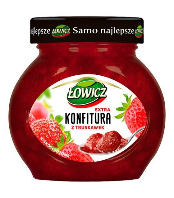 LOWICZ Strawberry Jam Extra Confiture - 240g (exp. 01.01.21)