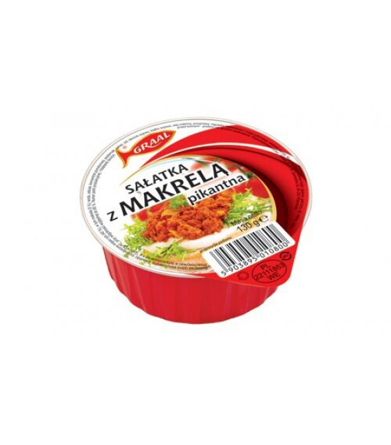 GRAAL Spicy Mackerel Salad - 130g (exp. 01.12.21)