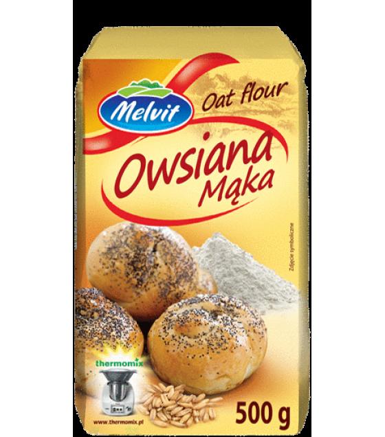 MELVIT Oat Flour - 500g (exp. 28.05.20)