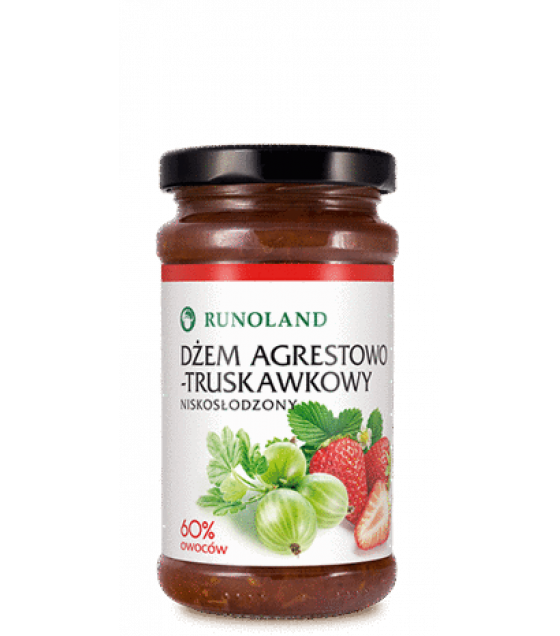 RUNOLAND Gooseberry and Strawberry Jam - 240g (exp. 10.01.21)