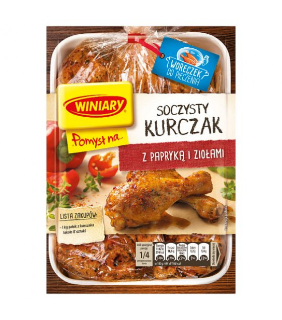 WINIARY Mix for Cooking Juicy Chicken with Peppers and Herbs - 28g (best before 01.04.21)