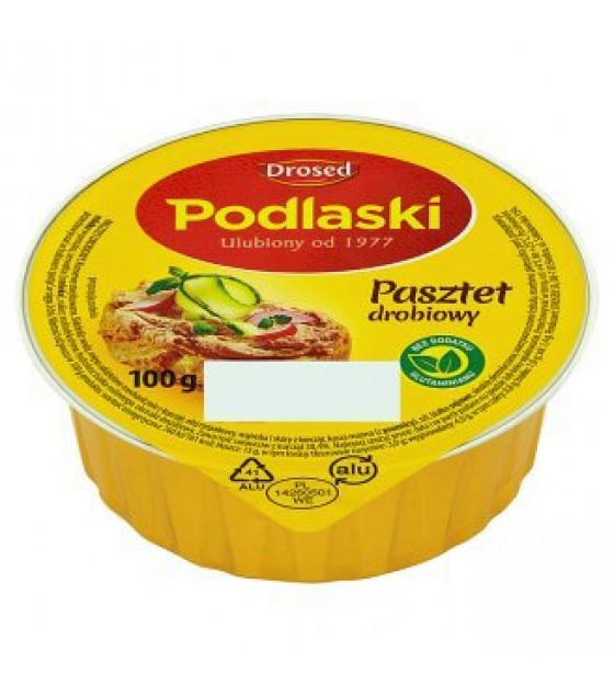 DROSED PODLASKI Chicken Pate - 100g (exp. 29.09.20)