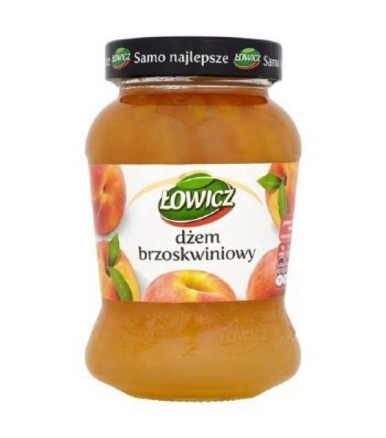 LOWICZ Peach Jam - 450g (exp. 01.11.20)
