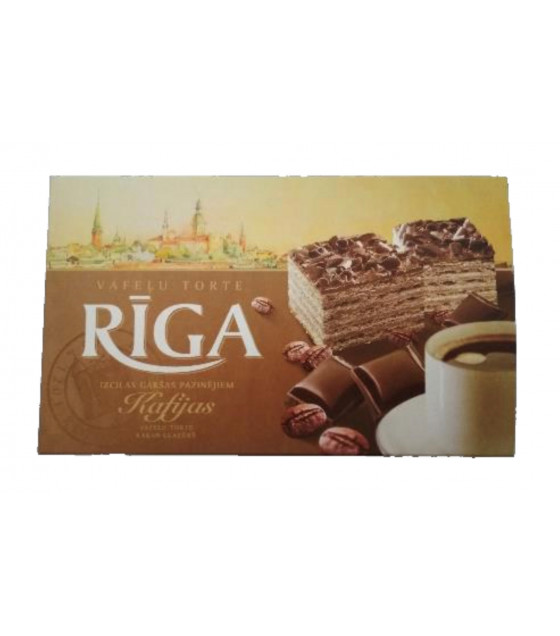 RIGA Coffee Wafer Cake  - 320g (best before 15.03.21)