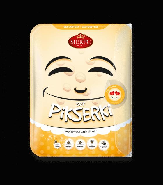 "SIERPC Cheese "" Pikserki"" sliced - 135g (exp. 23.08.19)"