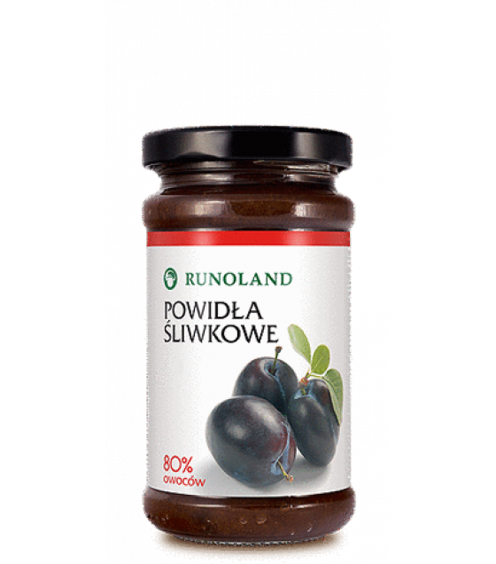 RUNOLAND Plum Jam - 250g (best before 30.05.22)