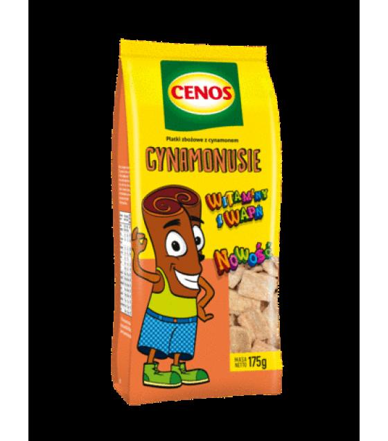"CENOS Breakfast Cereals ""Cynamonusie"" - 175g (exp. 08.02.20)"