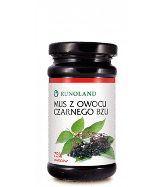 RUNOLAND Wild Elderberry Mousse - 250g (exp. 10.01.21)