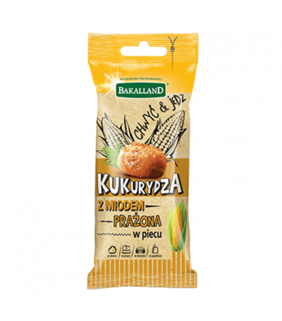 BAKALLAND Roasted Corn Seeds with Honey - 40g (exp. 30.04.20)
