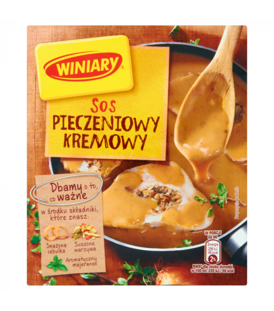 WINIARY Mix for Cooking Creamy Barbecue Sauce - 29g (best before 01.05.21)