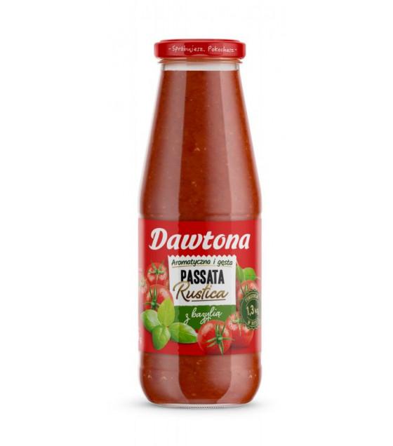 DAWTONA Tomato Passata Puree with Basil - 690g (best before 11.09.23)