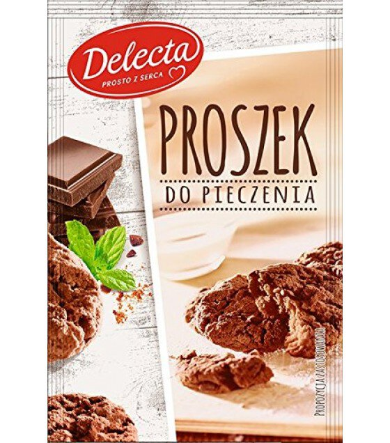 "Baking powder ""Delecta"" chocolate - 15g (exp. 03.06.19)"