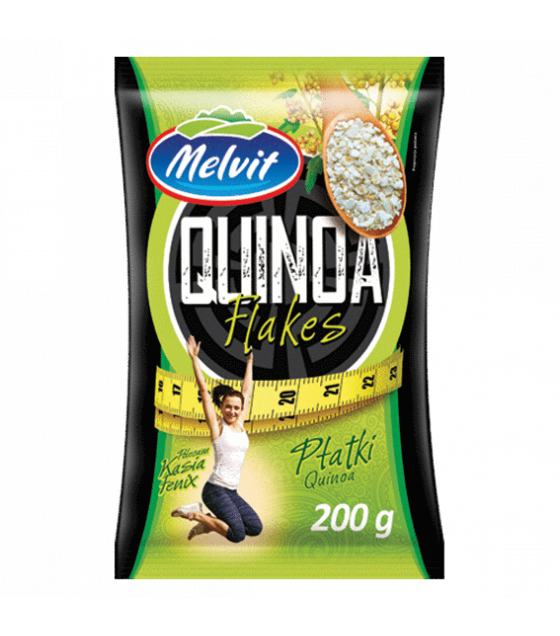 MELVIT Quinoa Flakes - 200g (best before 19.11.21)