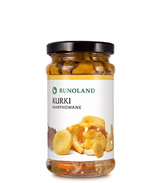 RUNOLAND Chanterelles Pickled Wild Mushrooms - 220g/130g (exp. 10.01.21)