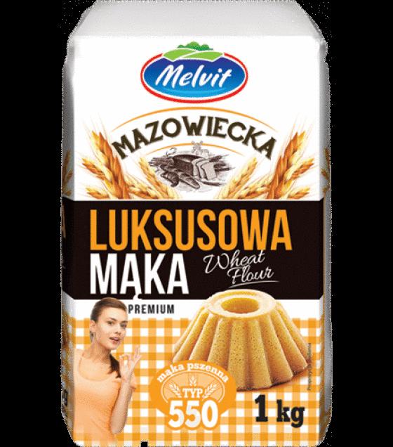 MELVIT Mazowiecka Wheat Flour Lux - 1kg (exp. 09.03.20)