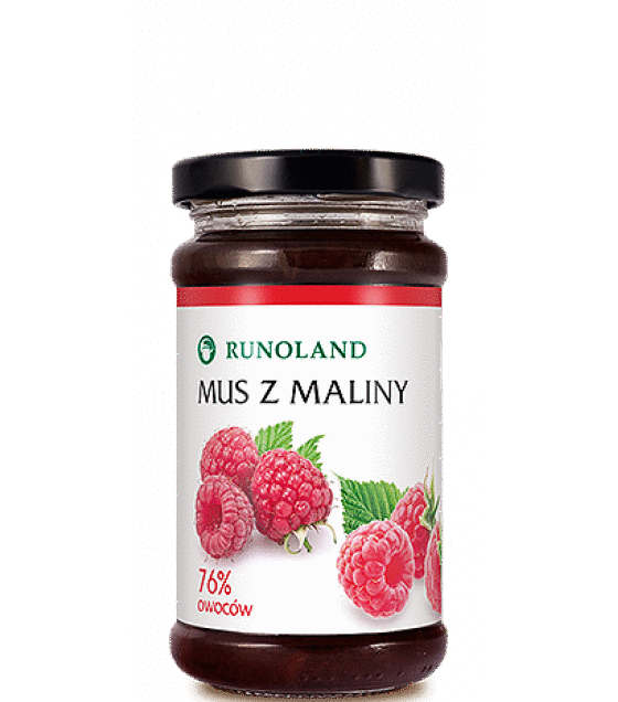 RUNOLAND Raspberry Mousse - 250g (exp. 10.01.20)