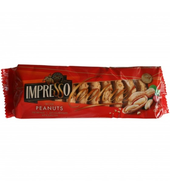 "SPARTAK Cookies ""Impresso"" with crushed peanuts - 190g (exp. 01.08.21)"