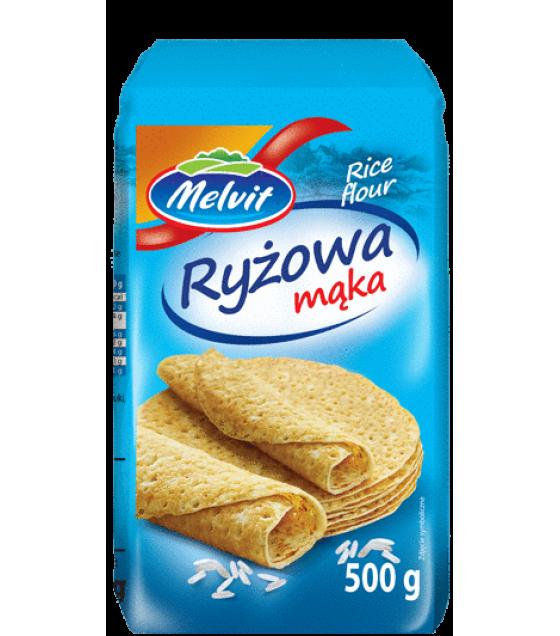 MELVIT Rice FLour - 500g (exp. 01.09.20)