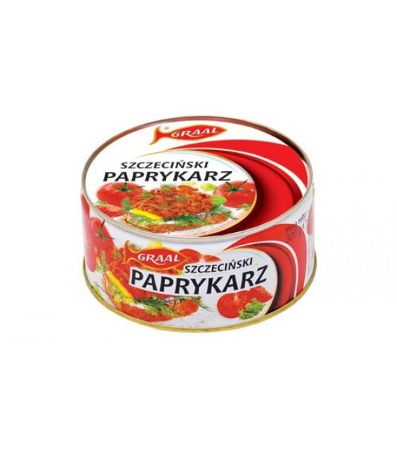 """GRAAL Fish Pate with Rice """"Szczeciński paprykarz"""" - 300g (exp. 01.12.21)"""