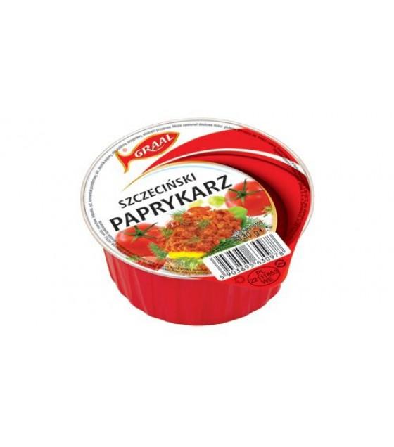 """GRAAL Fish Pate with Rice """"Szczeciński paprykarz""""- 130g (exp. 01.12.21)"""
