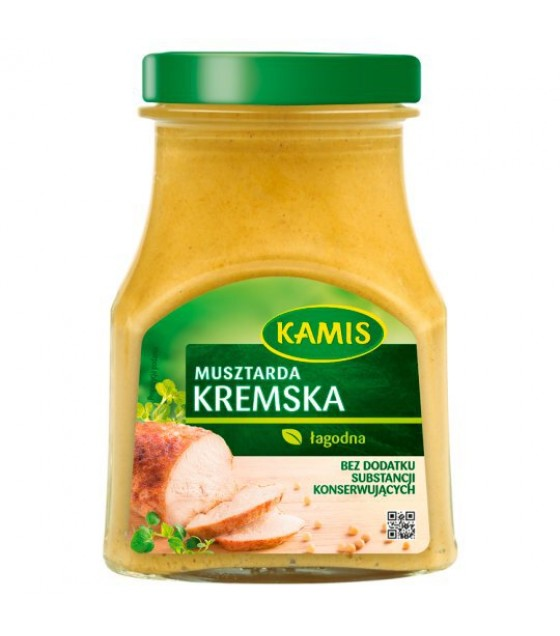 KAMIS Kremska White Mustard - 185g (exp. 21.04.20)