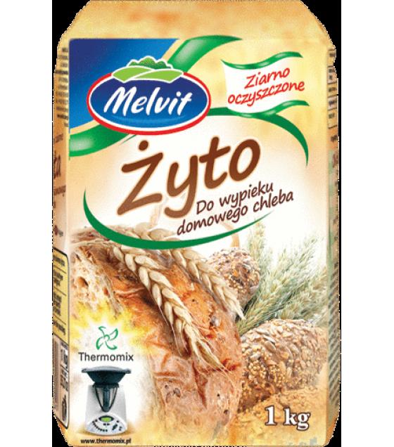 MELVIT Rye Grains for Baking Bread (Zyto) - 1kg (best before 04.12.21)