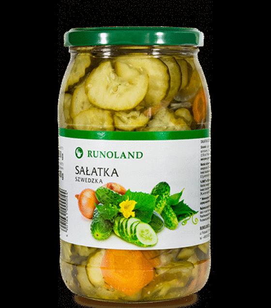 RUNOLAND Swedish Cucumber Salad - 900g/850g (exp. 10.01.20)