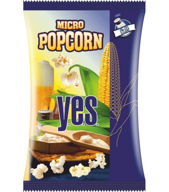 GRANEX Salted Popcorn Y.E.S. - 90g (exp. 30.04.20)