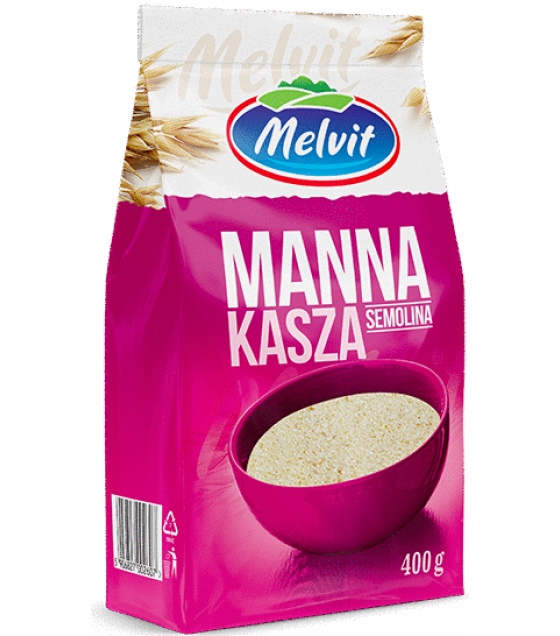 MELVIT Semolina - 400g (best before 20.11.21)