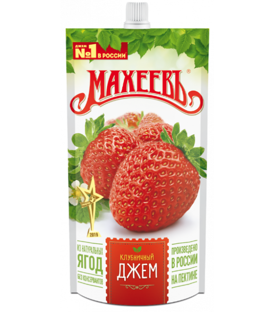 MAKHEEV Strawberry Jam - 300g (exp. 29.04.21)