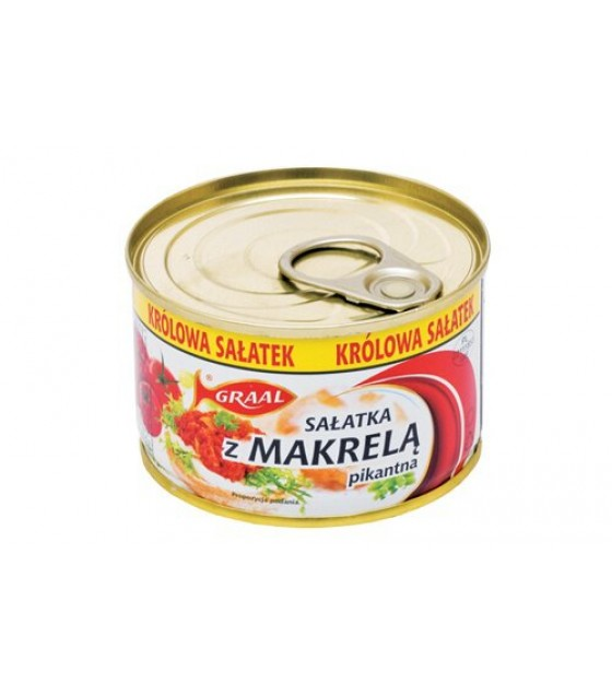 GRAAL Spicy Mackerel Salad - 165g (exp. 01.12.21)