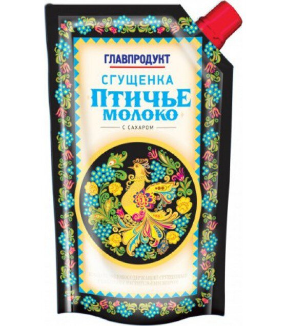 "Condensed milk Ptichie Moloko ""Glavproduct""- 270g (exp. 09.08.19)"