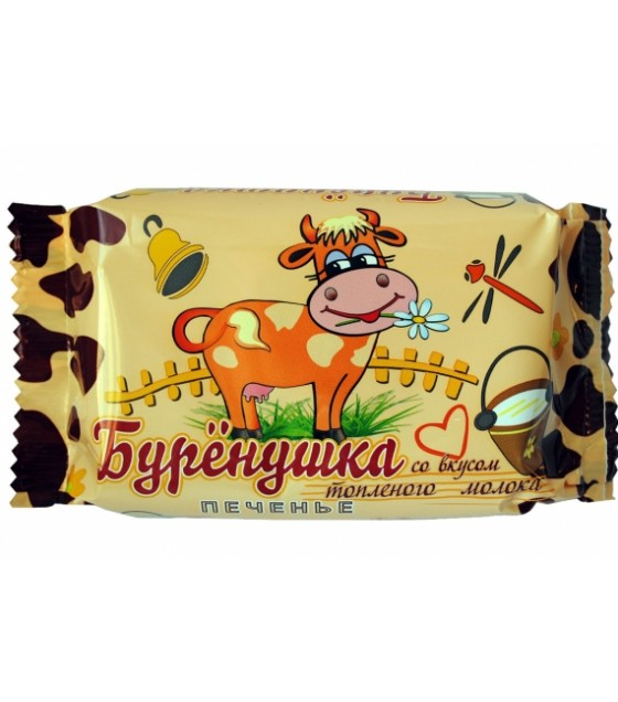 "SPARTAK Cookies ""Burenushka"" with the taste of baked milk - 100g (best before  04.08.21)"