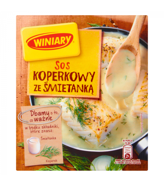 WINIARY Mix for Cooking Dill Sauce with Cream - 27g (best before 30.03.21)