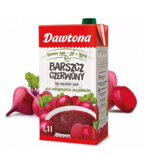 DAWTONA Red Beetroot Soup - 1100g (exp. 07.12.20)