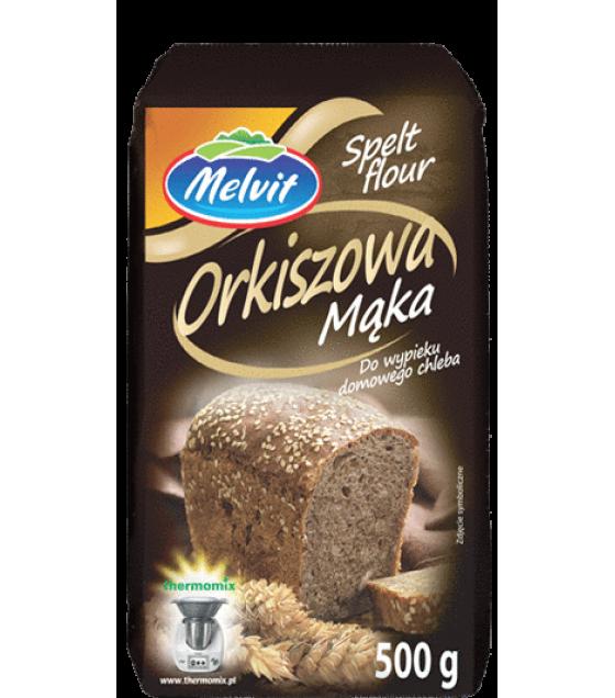 MELVIT Spelt Flour (Orkiszowa) - 500g (exp. 12.05.20)
