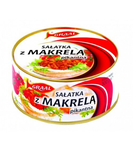 GRAAL Spicy Mackerel Salad - 300g (exp. 01.12.21)