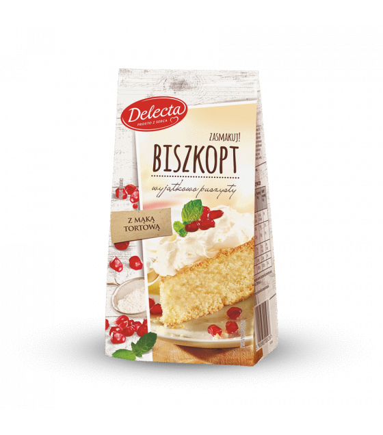 BAKALLAND Sponge Cake Baking Mix (Biszkopt) - 380g (best before 30.09.21)