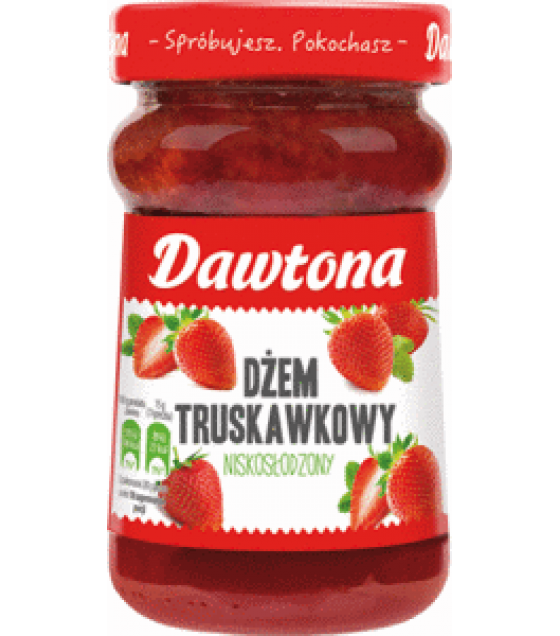 DAWTONA Strawberry Jam - 280g (exp. 20.02.20)