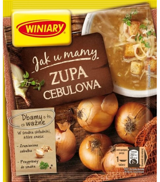WINIARY Onion Soup - 31g (best before 01.12.20)