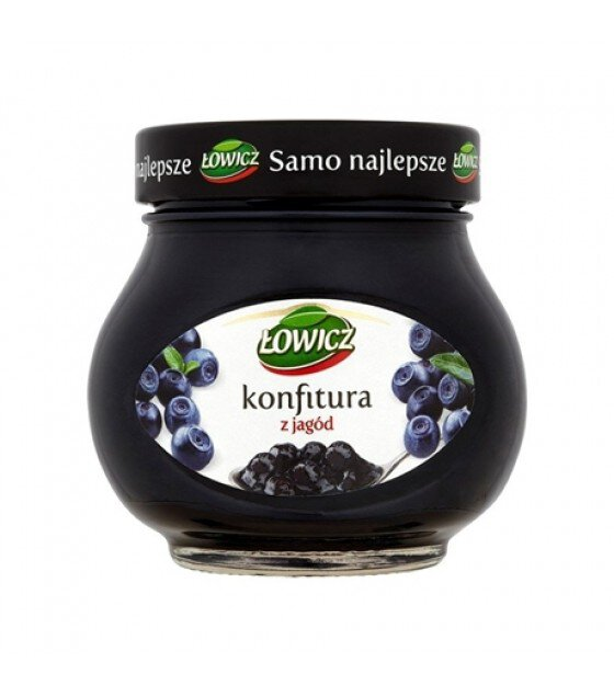 LOWICZ Blueberry Confiture - 240g (exp. 01.11.20)