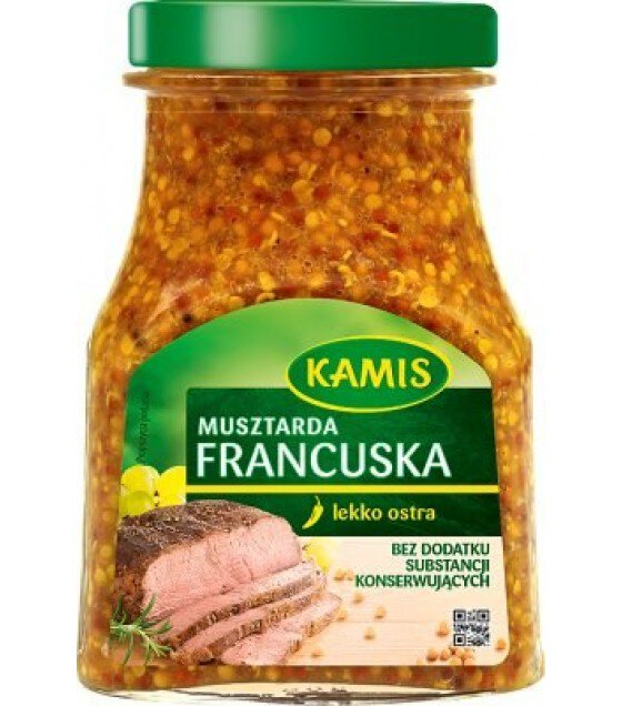 KAMIS French Mustard - 185g (exp. 11.02.20)