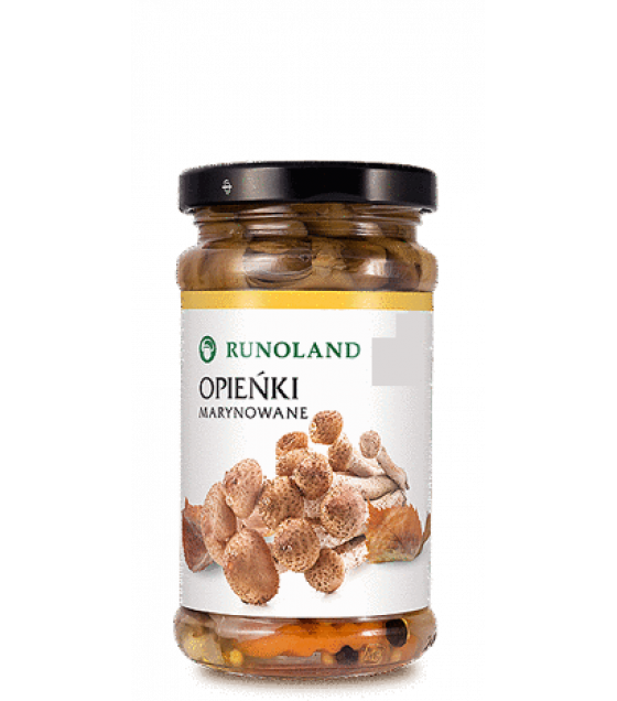 RUNOLAND Honey Pickled Wild Mushrooms - 220g/130g (exp. 10.01.21)